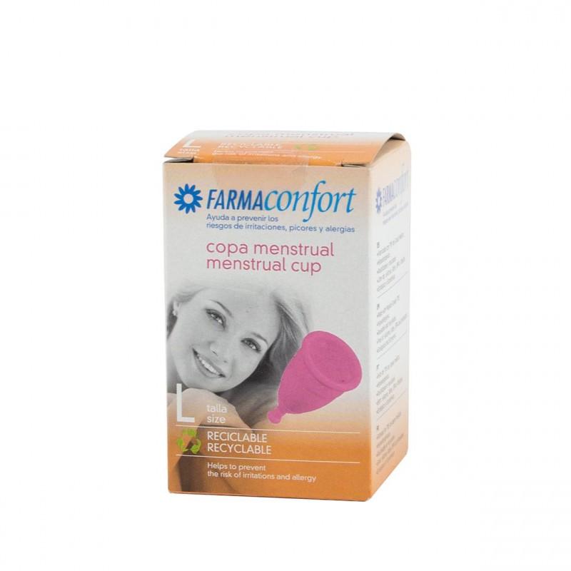 Farmaconfort copa menstrual  Talla-L - Farmacia Olmos