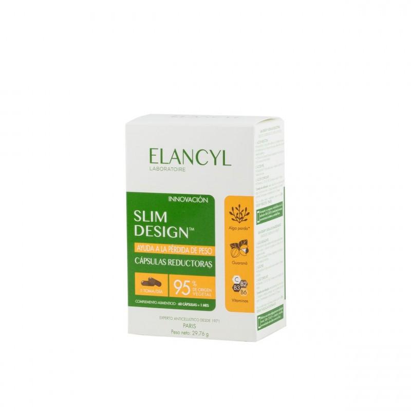 Elancyl slim design capsulas reductoras  60 caps - Farmacia Olmos