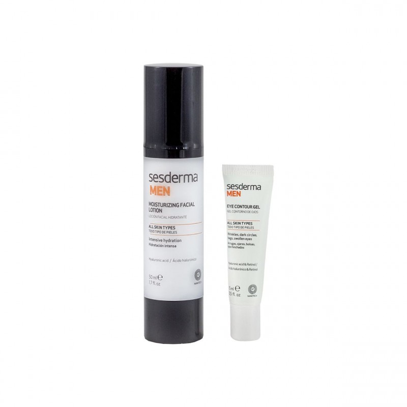 Sesderma men loción facal + gel contorno de ojos - Farmacia Olmos