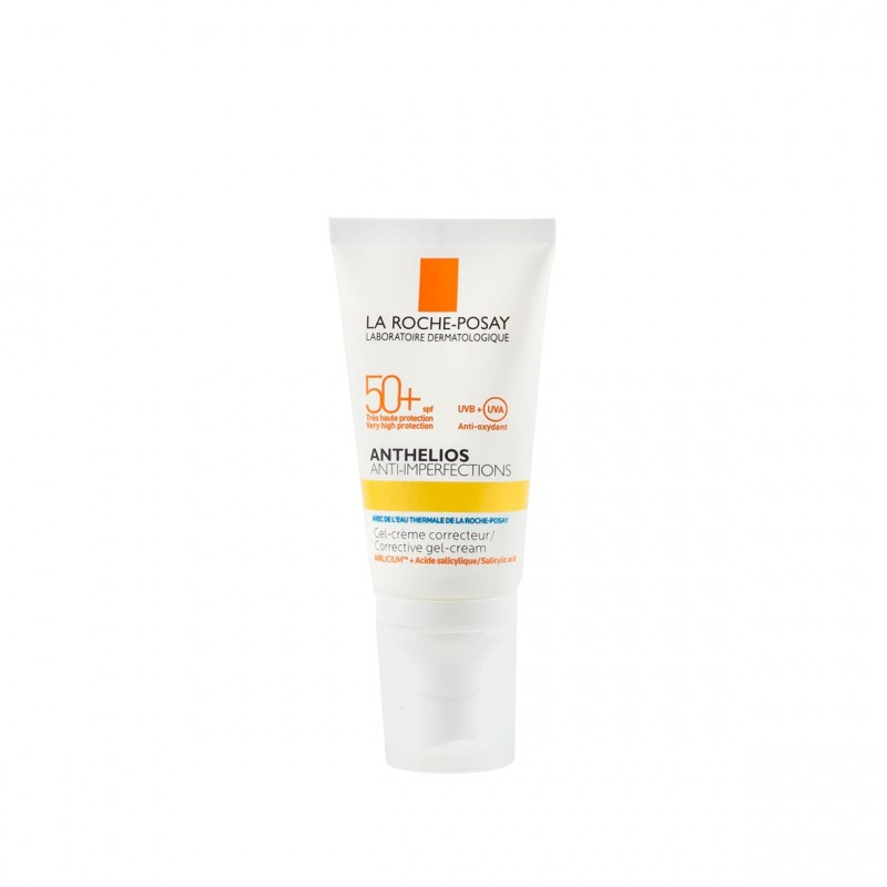 La roche posay anthelios anti-imperfecciones spf50+ gel-crema 50 ml - Farmacia Olmos