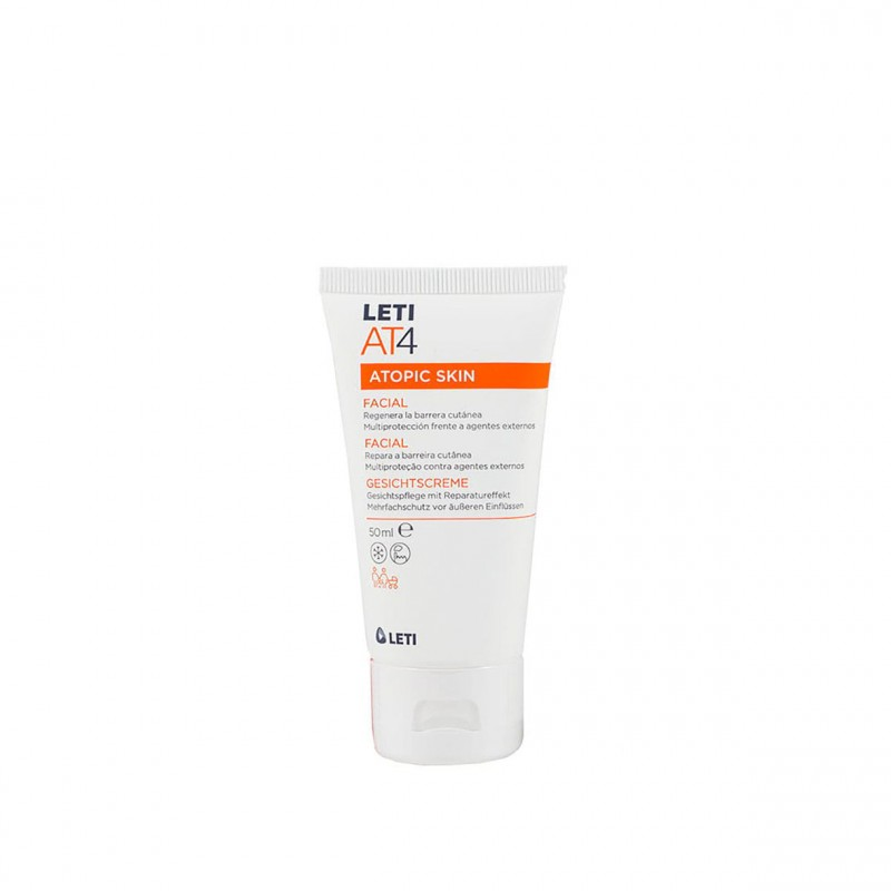 Leti At-4 crema facial  50 ml - Farmacia Olmos