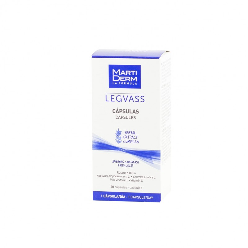 Martiderm legvass oral  60 caps - Farmacia Olmos