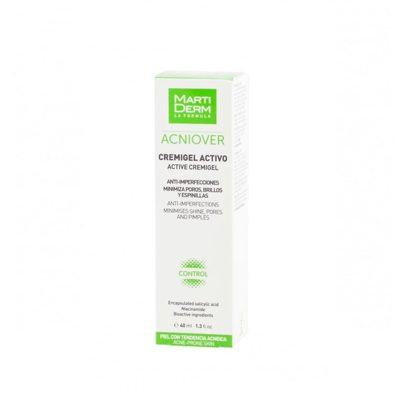 Martiderm acniover cremigel activo  40 ml - Farmacia Olmos