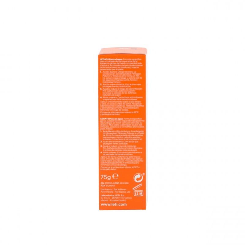 Leti at-4 crema pañal pasta al agua  75 g - Farmacia Olmos