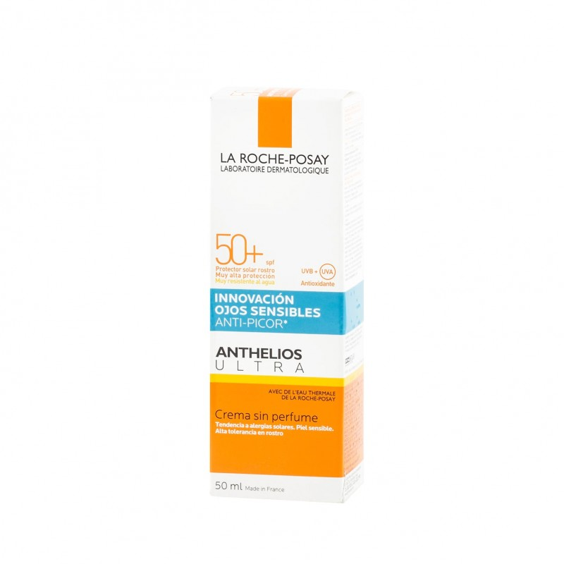 La roche posay anthelios ultra anti-picor ojos spf 50 - Farmacia Olmos