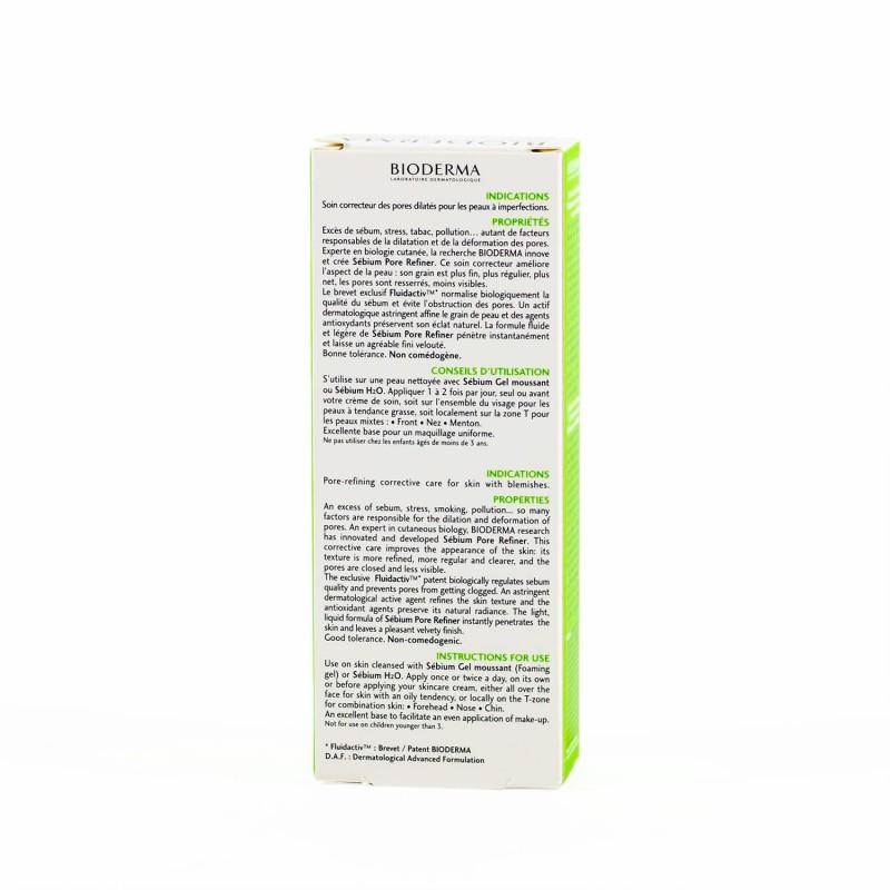 Bioderma sebium pore refiner 30 ml- Farmacia Olmos