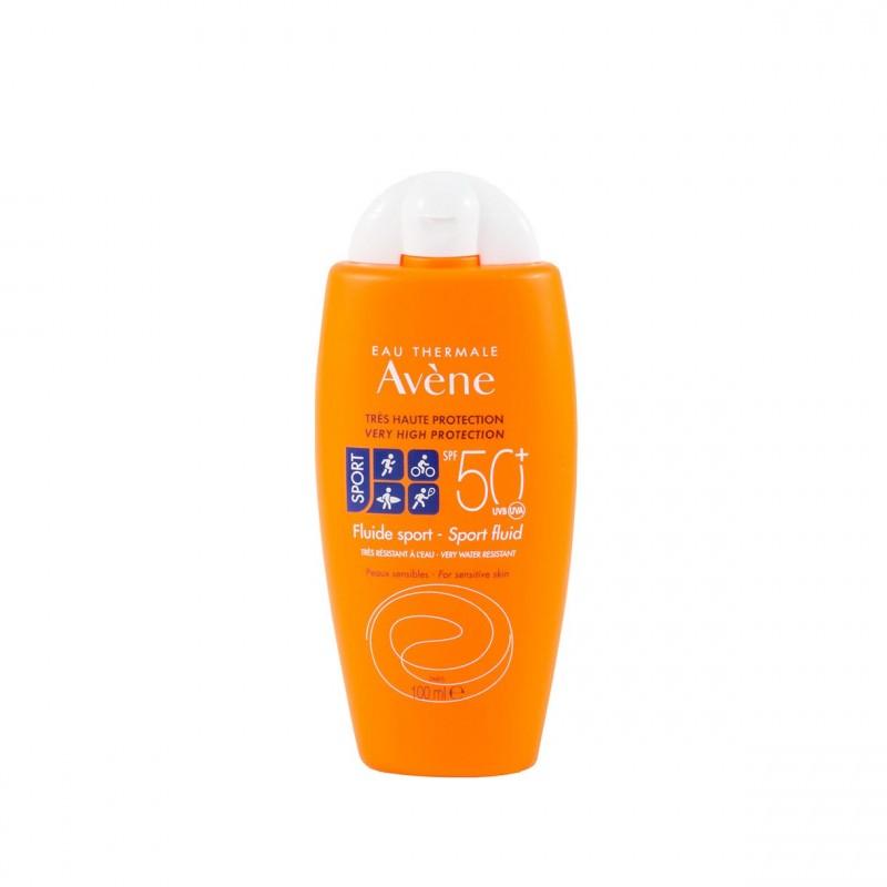 Avene proteccion spf 50+ fluido sport 100 ml - Farmacia Olmos