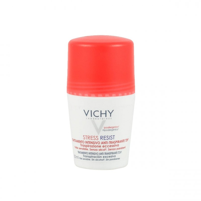 Vichy stress resist tto intensivo  antitranspirante 72 h roll-on 50 ml - Farmacia Olmos
