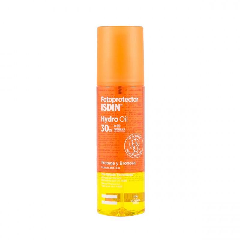 Isdin fotoprotector  hydro oil spf 30  200 ml - Farmacia Olmos