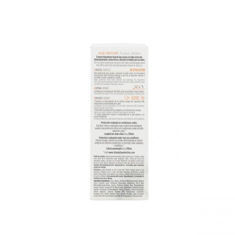 Isdin fotoultra age repair spf 50 fusion water 50 ml - Farmacia Olmos