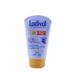 Ladival niños fotoprotector pieles atopicas fps 50 leche hidratante 50 ml