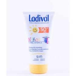 Ladival niños y pieles atopicas FPS 50+ leche hidratante 150 ml