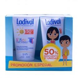 Ladival niños y pieles atópicas spf50+ leche hidratante 150 ml pack 2un