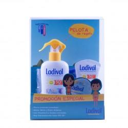 Ladival niños y pieles atópicas spf 50+pack leche hidratasnte 200ml+50ml