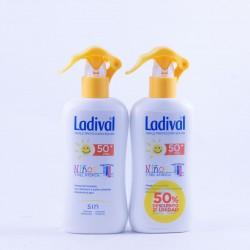 Ladival niños y piel atópica fps50 spray 200ml pack 2 un