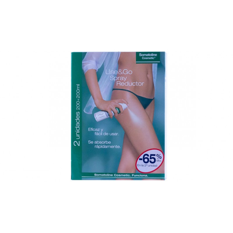 Somatoline use&go spray reductor pack 2 x 200 ml-Farmacia olmos