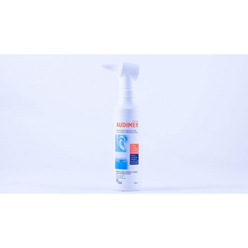 Audimer solucion limpieza oidos 60 ml-Farmacia Olmos