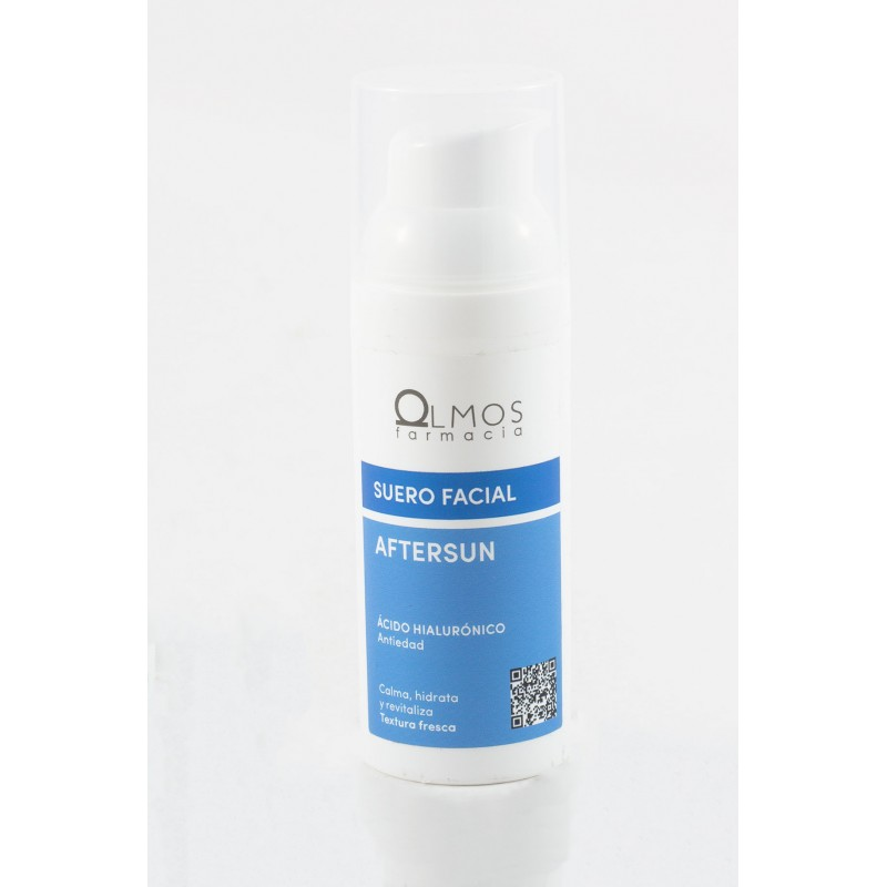 Olmos protector after sun facial 50ml-Farmacia Olmos