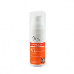 Olmos protector spf 50 crema facial rica 50ml-Farmacia Olmos