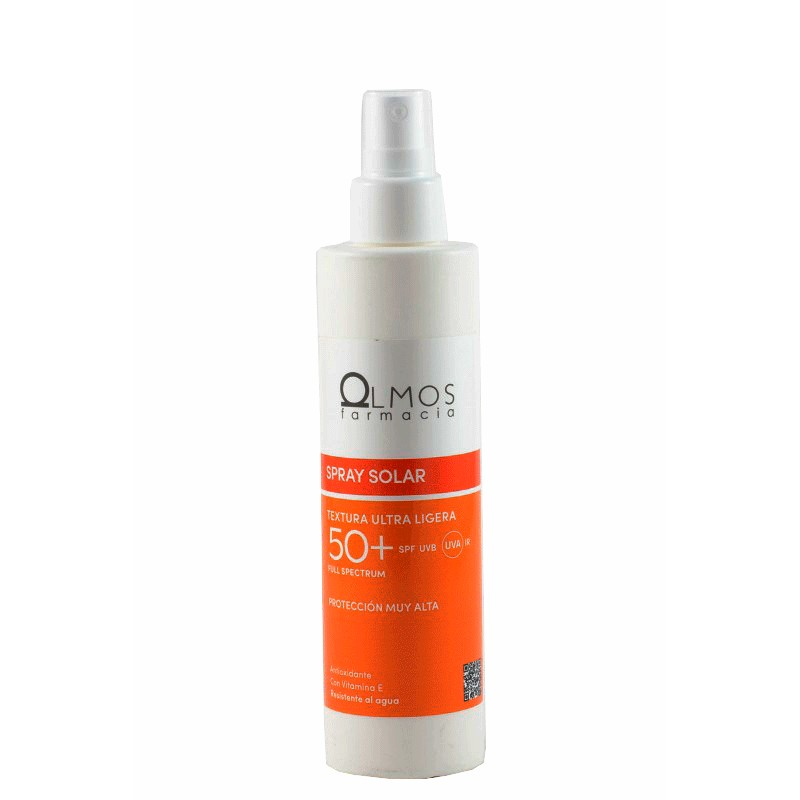 Olmos protector spf 50 spray solar 200ml-Farmacia Olmos