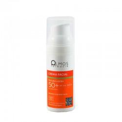 Olmos protector spf 50 crema facial ligera 50ml-Farmacia Olmos