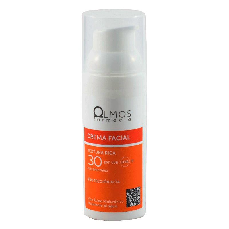 Olmos protector spf 30 crema facial rica 50ml-Farmacia olmos