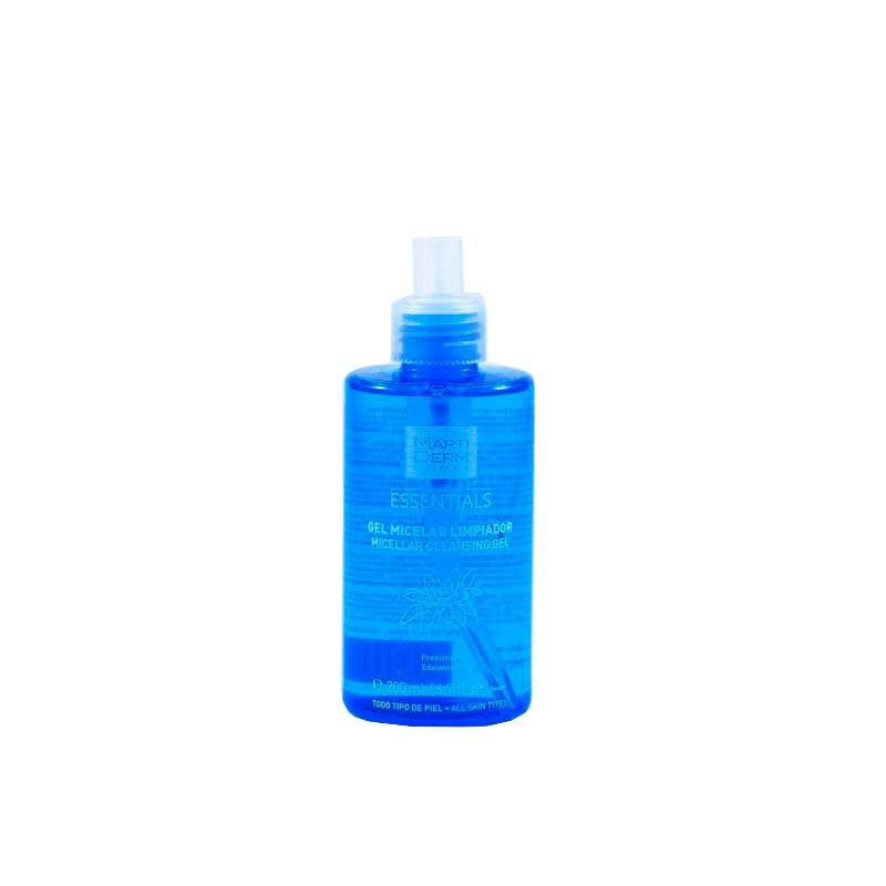 Martiderm gel micelar limpiador  200 ml-Farmacia Olmos