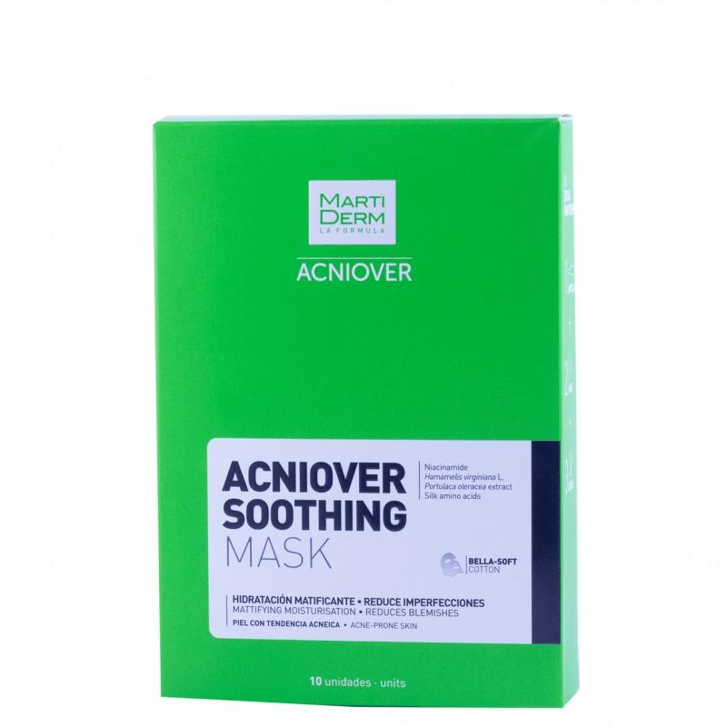 Martiderm acniover soothing mask 10 unidades-Farmacia olmos
