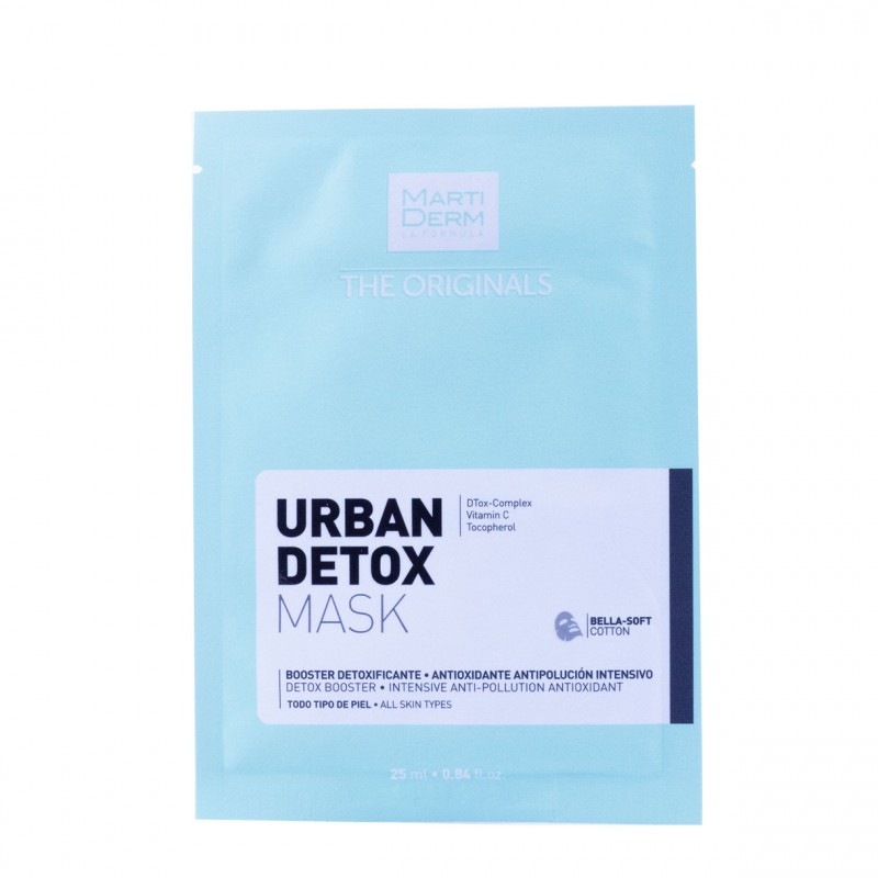 Martiderm the originals urban detox mask 1 unidad-Farmacia Olmos