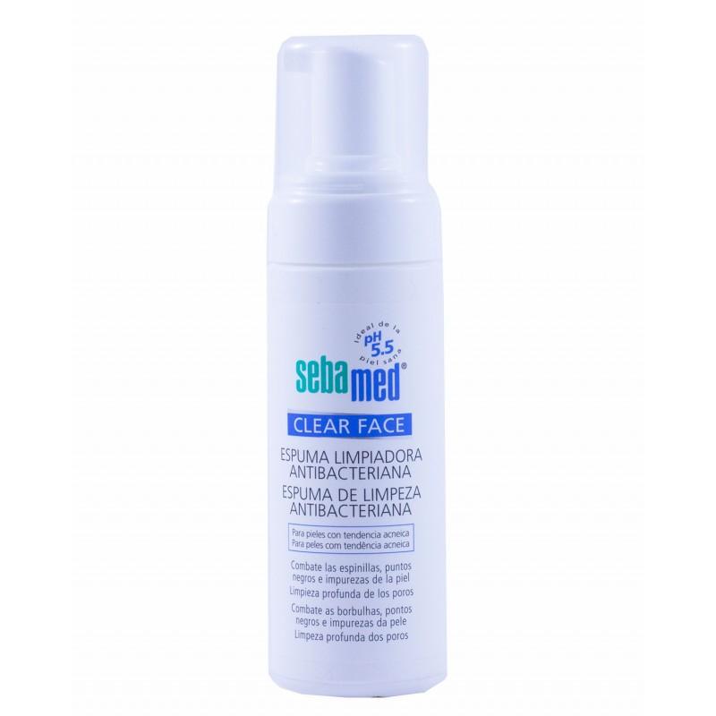 Sebamed espuma limpiadora clear face 150 ml-Farmacia olmos