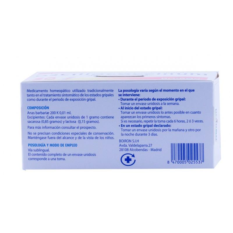 Oscilococcinum 30 dosis familiar-Farmacia olmos