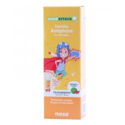 Nosa attack locion antipiojos (aroma sandia) 150 ml- farmacia Olmos