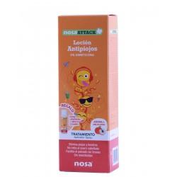 Nosa attack locion antipiojos (aroma melocoton) 100 ml- farmacia Olmos