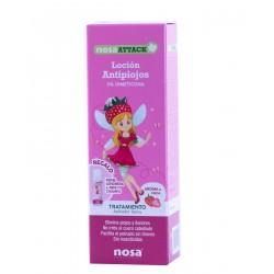 Nosa attack locion  antipiojos (aroma fresa) 100 ml- farmacia Olmos