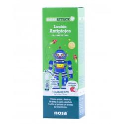 Nosa attack locion antipiojos (aroma manzana) 100 ml- Farmacia Olmos