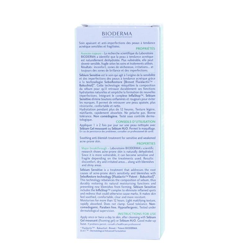 Bioderma sebium sensitive 30 ml-Farmacia Olmos