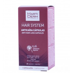 Martiderm hair system 60 capsulas anticaida-Farmacia Olmos