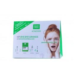 Martiderm acniover pack gel 200 ml+ hidratante 25 ml+ cremigel 40 ml+ stick corrector-Farmacia OLmos