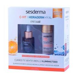 Sesderma pack c-vit radiance fluido 50 ml + hidraderm hyal serum 30 ml-farmaciaolmos