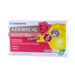 Arkoreal jalea real 500 mg + ginseng 20 amp bebibles-Farmacia Olmos
