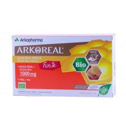 Arkoreal jalea real forte 1000 mg 20 ampollas bebibles-Farmacia Olmos