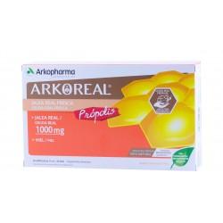 Arkoreal jalea real 1000 mg +propolis 20 ampollas bebibles-Farmacia Olmos