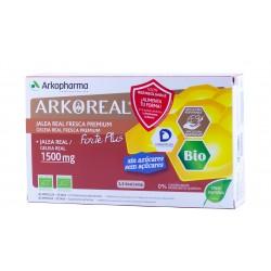Arkoreal jalea real forte plus 1500mg 20 ampollas bebibles-Farmacia Olmos