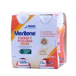 Meritene drink vainilla 4 botellas x 125 ml-Farmacia olmos