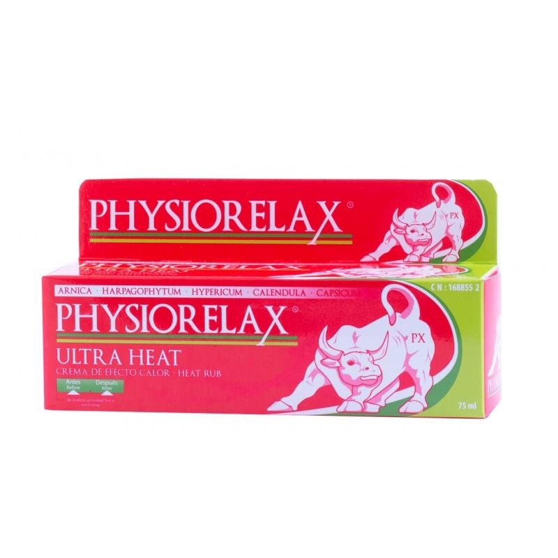 Physiorelax ultra heat 75 ml-Farmacia Olmos