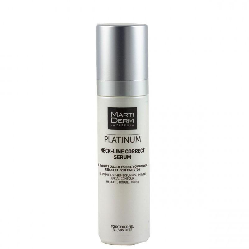 Martiderm platinum neck-line correct serum 50 ml-Farmacia Olmos