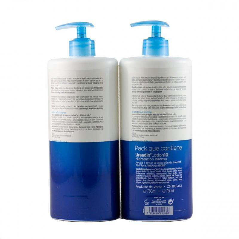 Isdin hydration ureadin lotion 10 750 ml duplo-Farmacia Olmos