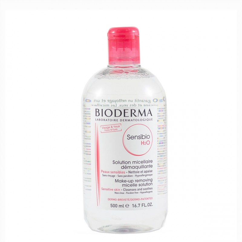 Bioderma sensibio h2o solucion micelar 500 ml-Farmacia Olmos