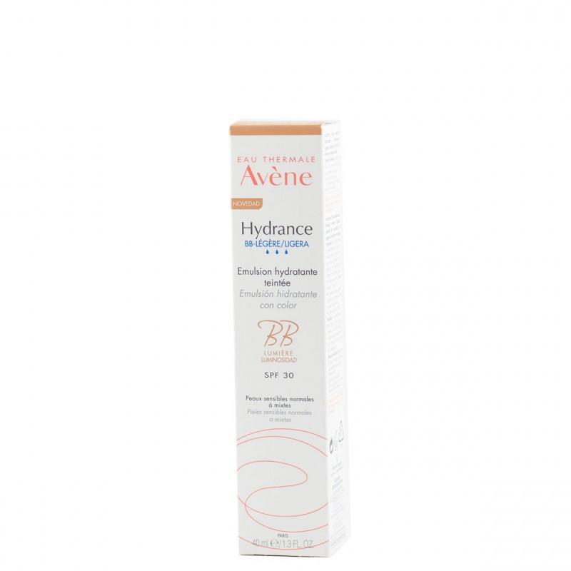 Avene hydrance bb-ligera spf 30 con color 40 ml-Farmacia Olmos