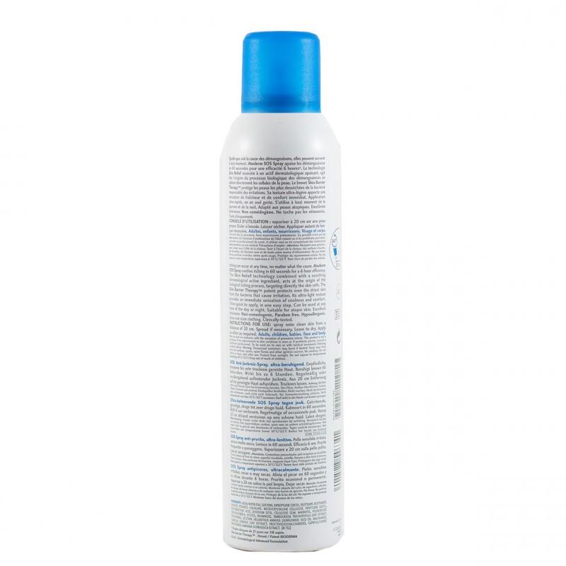 Bioderma atoderm sos spray  200 ml-Farmacia Olmos